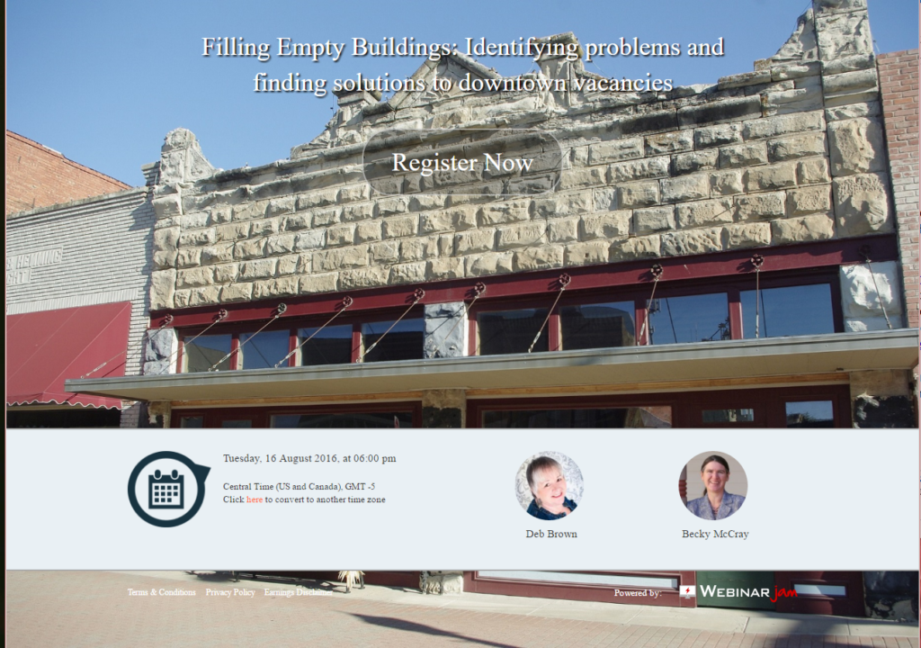 Empty Buildings webinar