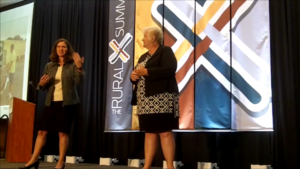 Becky-McCray-and-Deb-Brown-keynote-the-RuralX-Summit-2016