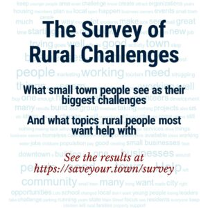 Survey of Rural Challenges 2019 results